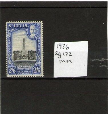 St Lucia King George V Mint Stamp 1936 Sg122