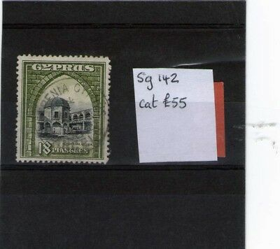 Cyprus Used Stamp King George V1 Sg142 Cat £55.00