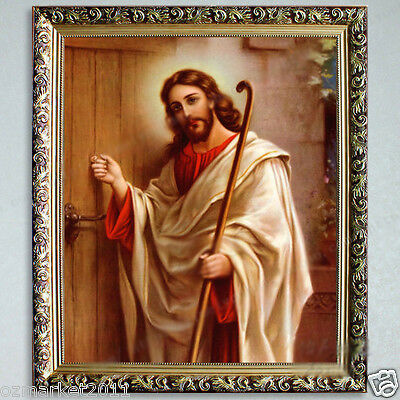 Catholic Church Portrait Jesus Christian Blessed Simple Artwork Home Decoration
