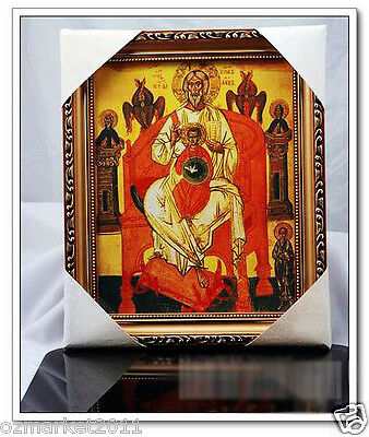 Catholic Church Portrait Jesus Christian Blessed Simple Holy Frame Decoration