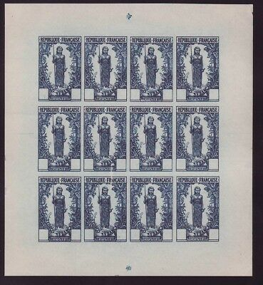 Congo Woman Bakalois Layer of 12 without value Blue