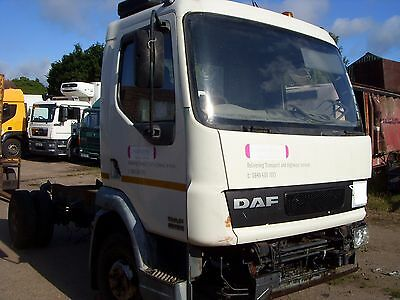 DAF LF 45 2001 Breaking For Spares _ Gearbox, Cab, Tipping Pump & Tyres