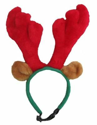 Outward Hound Holiday Antlers Headband - Size Small