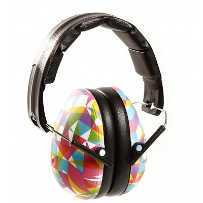 KIDS GEO Banz Ear Defenders Childs Earmuffs Protection 2years+ Boys Girls Baby