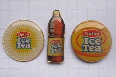 LIPTON / ICE TEA / FLASCHE / LOGOS    ................... Tee - Pins (142a)