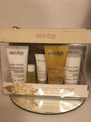 Decleor Aroma Glow Discovery Kit for Face & Body With Aurabsolu Face Cream