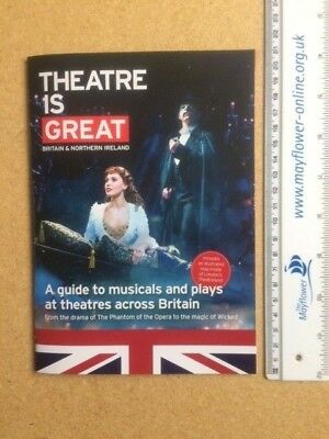 """WICKED """"Theatre Is Great"""" Promotional Theatre Brochure"""