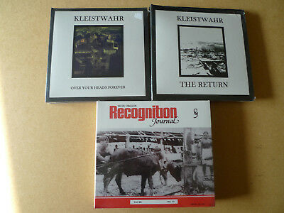 3xCD Job Lot KLEISTWAHR / SION ORGAN Noise Industrial Power Electronics