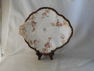 Royal Crown Derby Hand Painted Single Handled Dish Pattern 8751