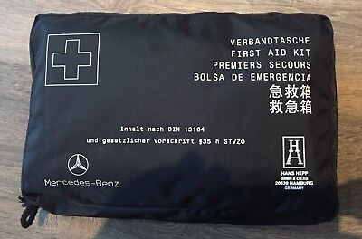 New Genuine Mercedes First Aid kit Long 2021 Use By Date Merc 1st Aid Kit