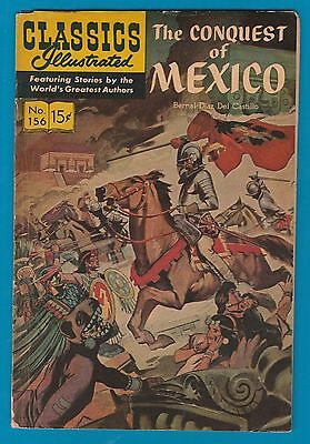 Classics Illustrated Comic Book 1967 The Conquest of Mexico #156 #741