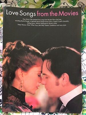 Love Song From The Movies - Song Book For Female Voice