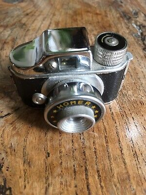 Antique Japanese miniature spy camera by Homer