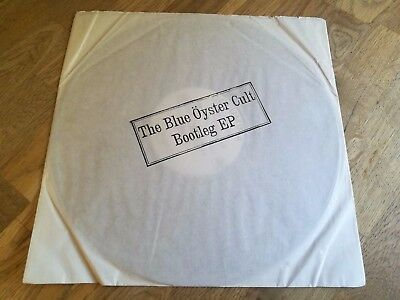 Blue oyster cult LP Bootleg EP White label Demo Columbia AS 40 ++++++++++++++++