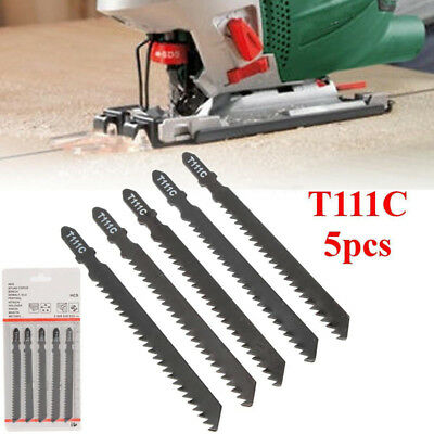 5pcs 8T T-Shank Jigsaw Blades Jig Saw For Bosch T111C for Wood Plastic Metal Cut