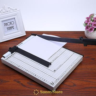A4 Paper Cutter Trimmer Guillotine Machine Professional Safety Guard Home Office