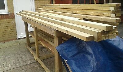 timber 95 mm x 44mm never used  26 lengths   ideal decking e.t.c