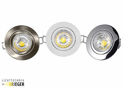 LED recessed lighting ceiling lamps GU10 Pluto 3 Watt - 280 Lm Cold white