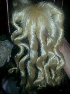 Antique Doll Wig 7-8""