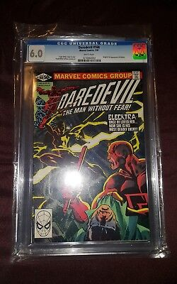Daredevil #168 (Jan 1981, Marvel) CGC 6.0 1st Elektra