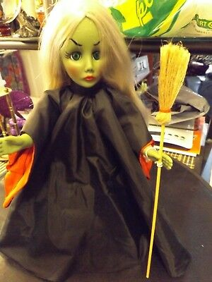 effenbee doll wicked witch of the east/used.