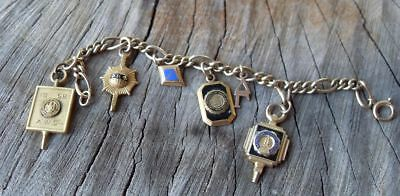 Vintage Bracelet  Sorority PINS AND CHARMS