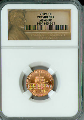 2009 Lincoln Cent Bicentenial PRESIDENCY NGC MS66 RD