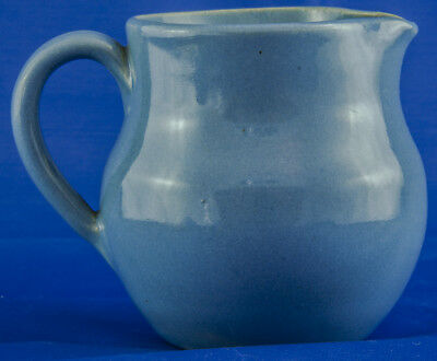 Buchan Stoneware Scotland Blue Jug 2.75 inches Tall