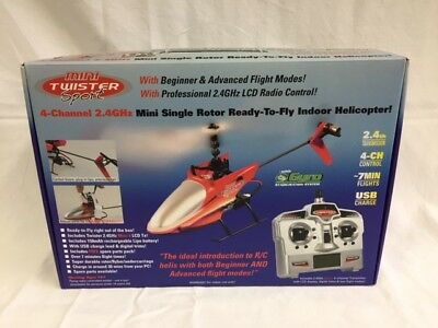 JP Mini Twister Sport 2.4GHz 4CH RTF Helicopter