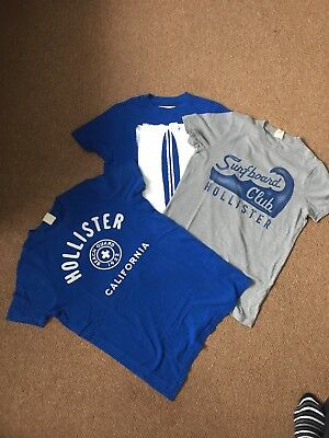 Hollister T-shirt Bundle Size S