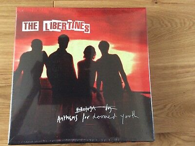 The Libertines - Anthems For Doomed Youth Signed Vinyl Cd Demos Box Set Sealed