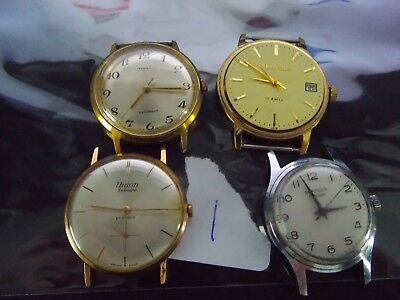 Joblot Gents Watches  Spares Or Repair L1