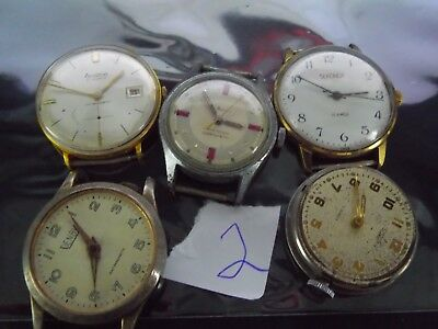 Joblot Gents Watches  Spares Or Repair L2
