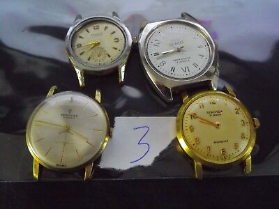 Joblot Gents Watches  Spares Or Repair L3