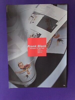 Frank Black Teenager Of The Year ORIGINAL 1996 PROMO POSTER 4AD pixies indie