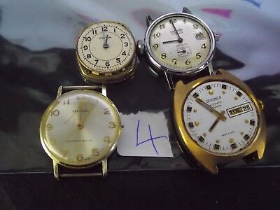 Joblot Gents Watches  Spares Or Repair L4
