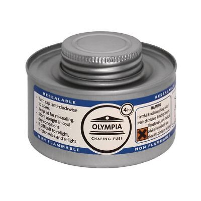 Olympia Chafing combustible liquide 4 heures (colis de 12) HAZ OLYMPIA