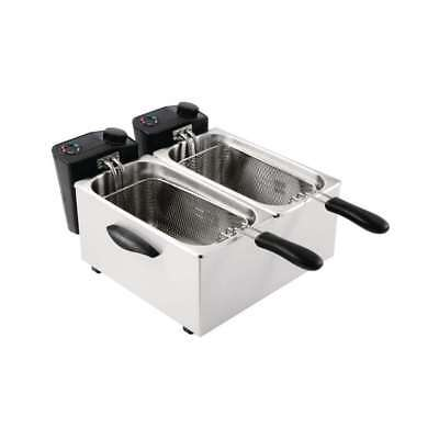Friteuse double bacs 2 x 3,5 Litres CATERLITE