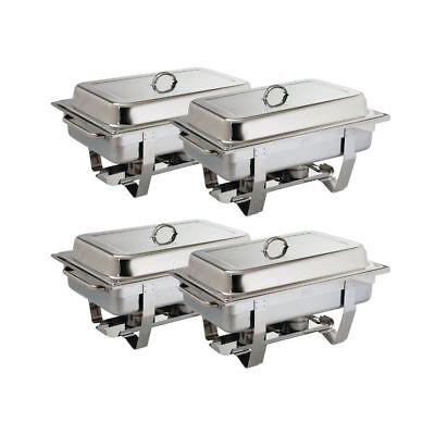 Lot de 4 Chafing dish Milan multipack 4 pièces inox OLYMPIA