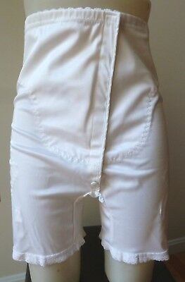 Vintage True Health High Waist long leg panty/Medical girdle garters sz 38/4X