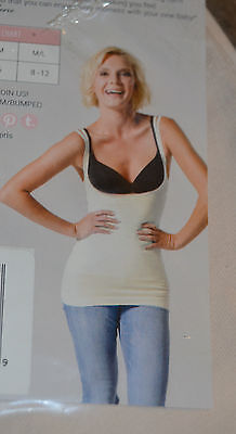 Bumped by BLANQI Open Bust Postpartum Support Cami Top Porcelain Size M/L