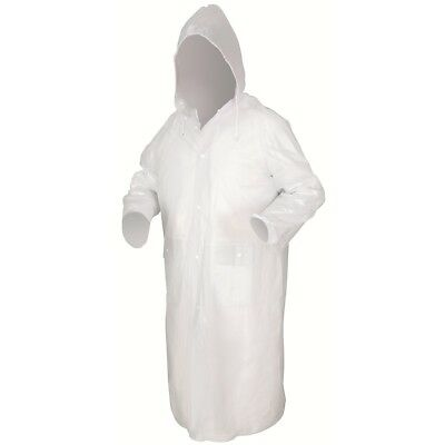 River City Clear 49 Inch Raincoat with Detachable Hood