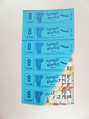 BINGO TICKETS ,BOOKS . 150  Books 8 Page 6 to view 25 strips of 6 books to view