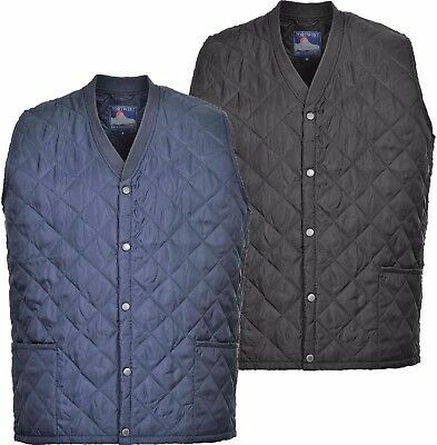 Portwest S413 Kinross Mens Bodywarmer Outdoor Coat Corporate Uniform Workwear