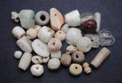 Collection of mixed ancient beads