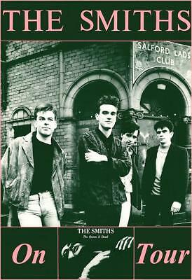 "The Smiths Queen is Dead ""On Tour"" 1986 POSTER Morrissey Johnny Marr"