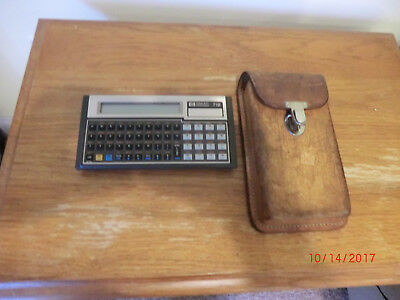 VINTAGE HP-71B Programmable Calculator with HP-IL  mdl & Field Protective Pouch