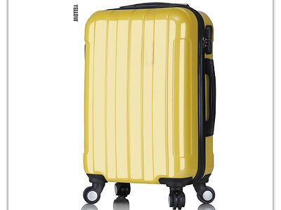 "28"" Yellow Height 69cm Universal Wheel ABS+PC Travel Suitcase/Luggage Trolley *"