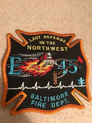 baltimore fire department Patch. Engine 45