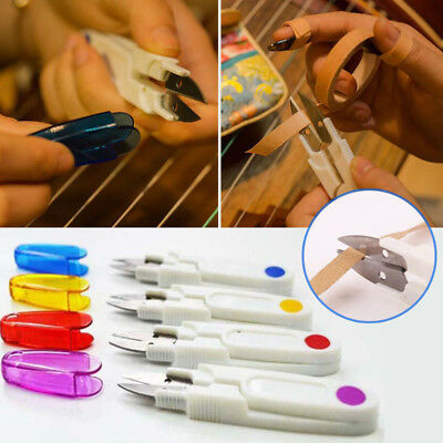 Guzheng Special Tape Scissors Safety Portable Long Small Scissors Tape
